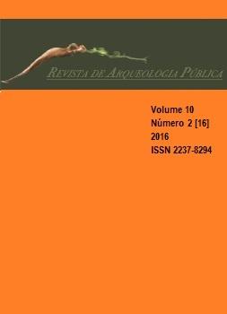 Visualizar v. 10 n. 2[16] (2016): Dossiê Arqueologia e Patrimônio Cultural