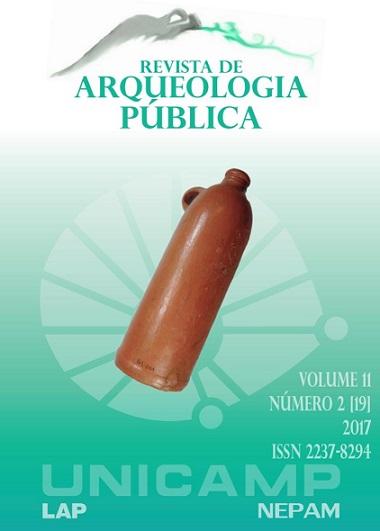 """Visualizar v. 11 n. 2[19] (2017): Dossiê """"Debates em torno das políticas de salvaguarda e acesso de acervos arqueológicos no Brasil"""""""