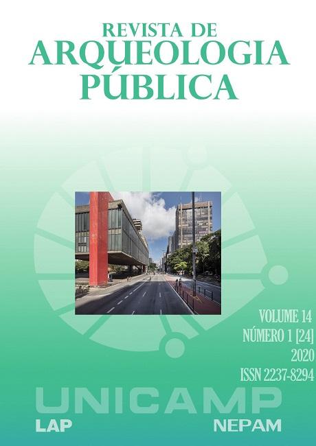 Visualizar v. 14 n. 1 (2020): Arquelogia