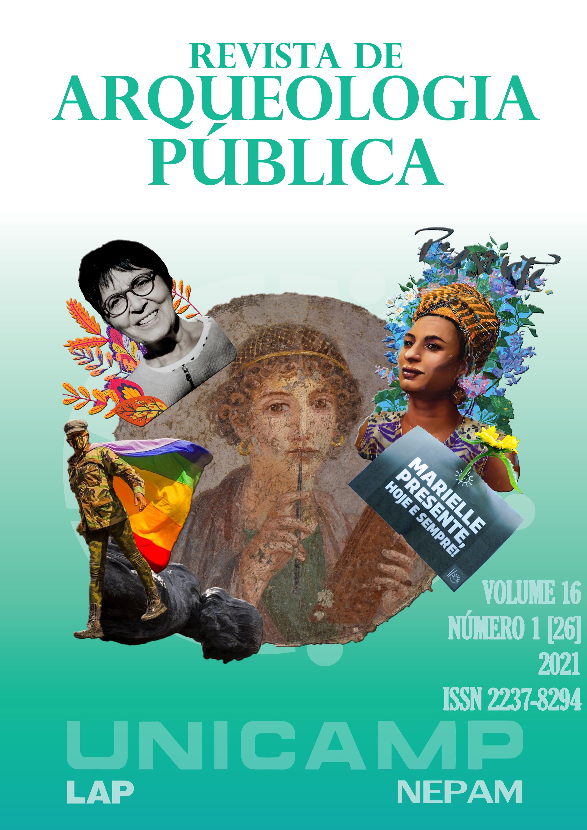 Visualizar v. 16 n. 1 (2021): Arqueologia, Patrimônio e Gênero: provocações feministas