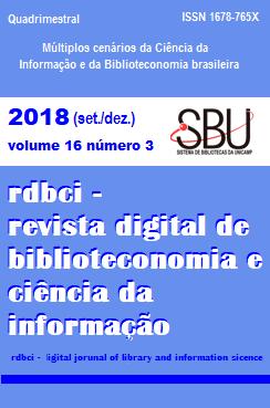 Visualizar v. 16 n. 3 (2018): set./dez.: Múltiplos cenários da Ciência da Informação e da Biblioteconomia brasileira