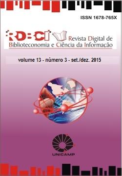 Visualizar v. 13 n. 3 (2015): Aperfeiçoamento nos serviços, gestão e métodos bibliométricos