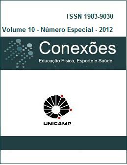 Visualizar v. 10 (2012): Número Especial - Ginástica