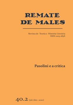 Visualizar v. 40 n. 2 (2020): Pasolini e a crítica