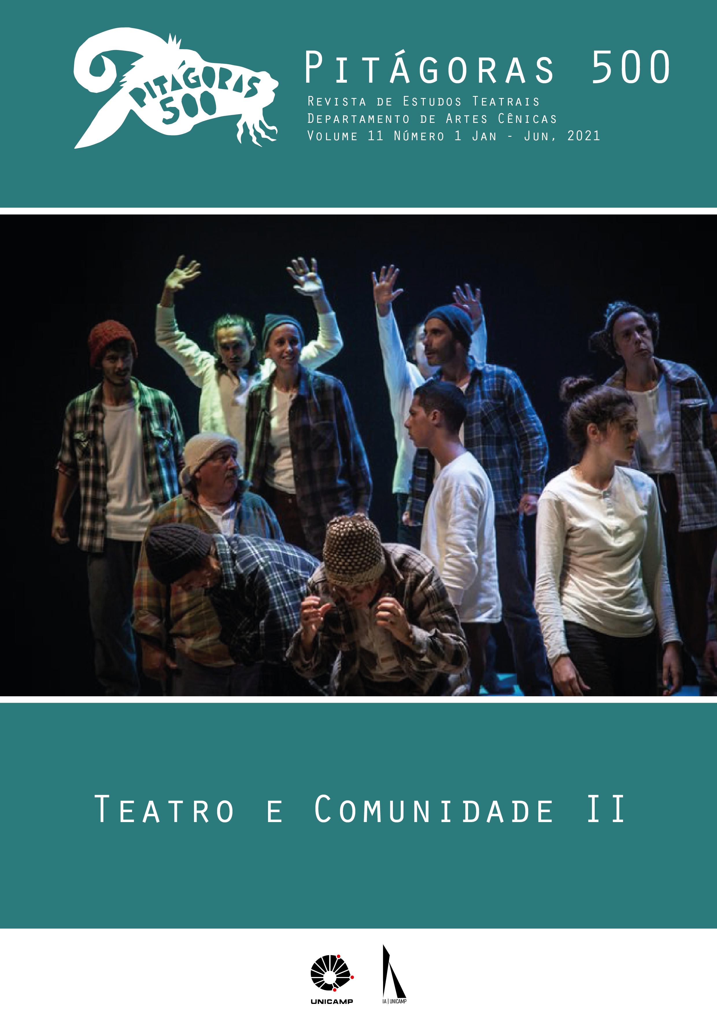 Visualizar v. 11 n. 1 (2021): Teatro e Comunidade II