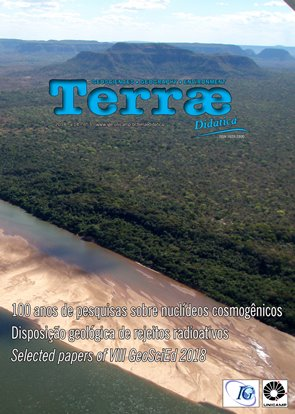 Cordões arenosos fluviais em vista aérea do Rio Tocantins, região entre Estreito e Carolina, Maranhão.