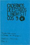 Visualizar v. 9 (1985): Encontro Internacional de Filosofia da Linguagem - Conferência & Comunicações Parte I