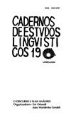 Visualizar v. 19 (1990): O Discurso e Suas Análises