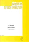 Visualizar v. 45 (2003): Lingüística e Cognição