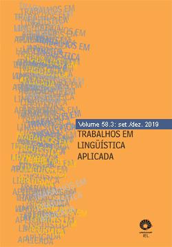 Visualizar v. 58 n. 3 (2019): Gêneros de discurso, escrita e ensino
