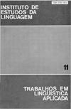 Visualizar v. 11 (1988): Tradução