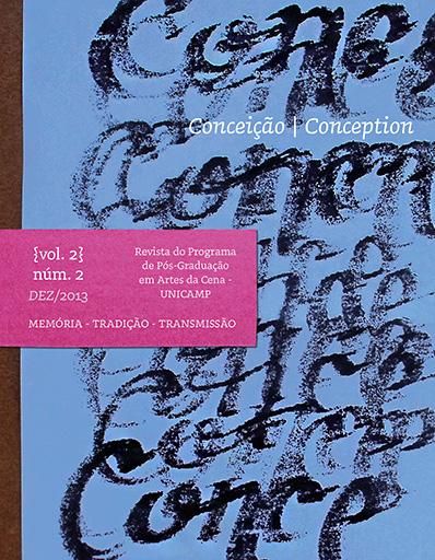 Visualizar v. 2 n. 2 (2013): Memória, Tradição, Transmissão