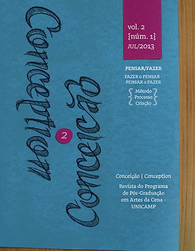 Visualizar v. 2 n. 1 (2013): Pensar/Fazer: Método, Processo, Criação