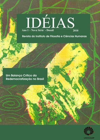 Visualizar v. 1 n. 1 (2010): Dossiê: Um Balanço Crítico da Redemocratização no Brasil