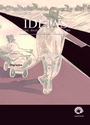 Visualizar v. 2 n. 1 (2011): Dossiê: Migrações e Seção Livre