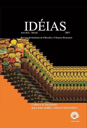 Visualizar v. 4 n. 2 (2013): Cultura e Sociedade: para uma análise cultural materialista