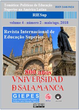 Visualizar v. 4 n. 2 (2018): maio/ago.: Politicas de Educação Superior na América Latina