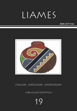 Desenho de tela de autoria da etnia Terena