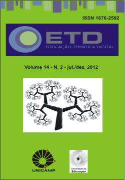 """Visualizar v. 14 n. 2 (2012): Número Temático: """"Perspectivas da educação multidisciplinar nos diversos campos de aprendizagem e formação"""""""