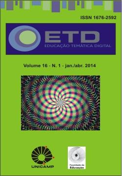 Visualizar v. 16 n. 1 (2014): Pesquisa, desenvolvimento e formação na educação