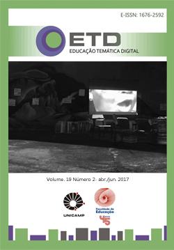 Visualizar v. 19 n. 2 (2017): Cinema, educação e seus processos de formação