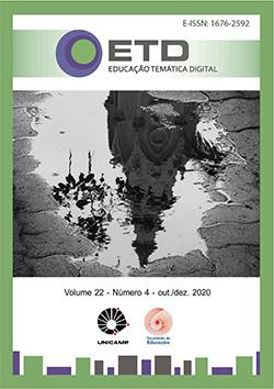 Visualizar v. 22 n. 4 (2020): Cultura, Saberes y Disciplinas Escolares en Iberoamerica -  Cultura, Saberes e Disciplinas Escolares na Ibero-América