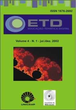 Visualizar v. 4 n. 1 (2002): Número Temático: Saúde Educativa, Psicologia Analítica e Movimentos Sociais