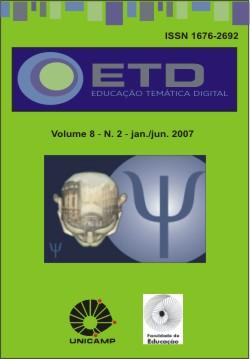 Visualizar v. 8 n. 2 (2007): Número Temático: Docência em psicologia