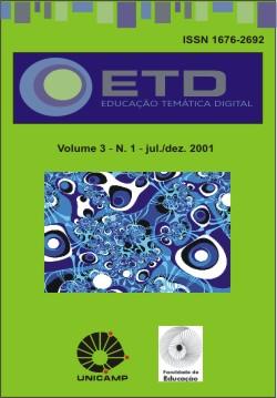 Visualizar v. 3 n. 1 (2001): Número Temático: Tecnologia e Comunicação, Educação e Saúde, Biblioteconomia e Leitura