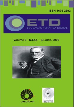 Visualizar v. 8 (2006): Número Especial: 150 anos de Freud