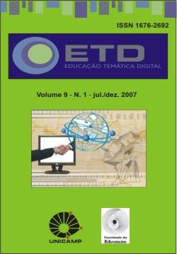 Visualizar v. 9 n. 1 (2007): Número Temático: Da tecnologia educacional, humana e visual à educação filosófica e ambiental