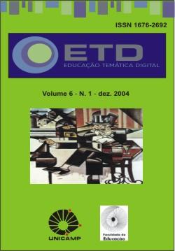 Visualizar v. 6 n. 1 (2004): Número Temático: Educação, Biblioteconomia e Formação Profissional