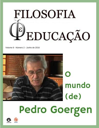 Visualizar v. 8 n. 2 (2016): O mundo (de) Pedro Goergen