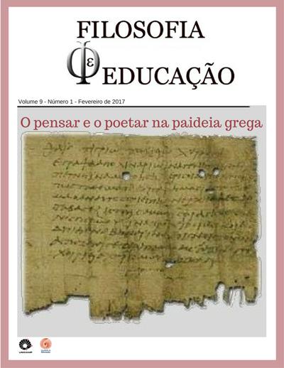 Visualizar v. 9 n. 1 (2017): O poetar e o pensar na paideia grega