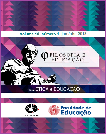 Visualizar v. 10 n. 1 (2018): Temática: Ética e Educação