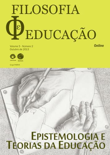 Visualizar v. 5 n. 2 (2013): Epistemologia e Teorias da Educação
