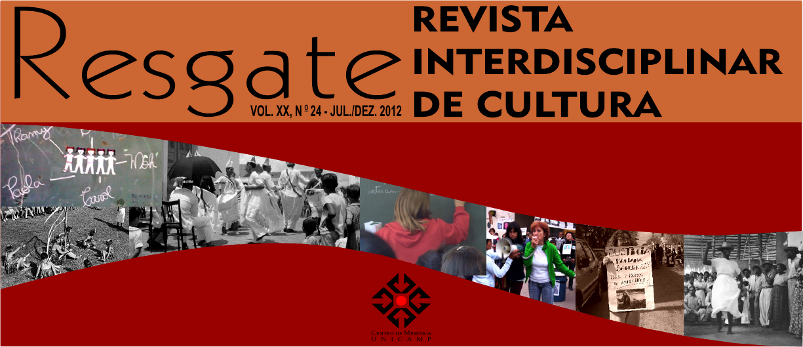 Visualizar v. 20 n. 2 (2012): jul./dez. [24]: Patrimônio cultural, quilombolas, danças populares