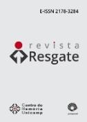 Resgate: Revista Interdisciplinar de Cultura
