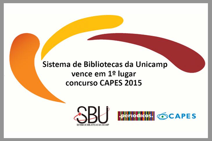 Projeto do Sistema de Bibliotecas recebe  menção honrosa em concurso da Capes